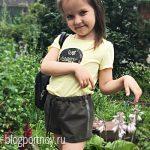 Выкройка детских шортиков