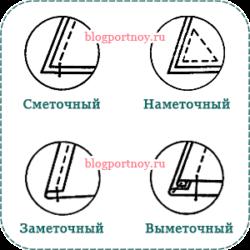 Ручные стежки и швы