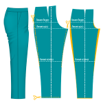 Дефекты посадки брюк и способы их устранения