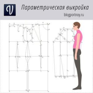 Выкройка-основа на сутулую фигуру