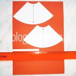 Расчет расхода ткани на изделие. На примере выкройки юбки полусолнце