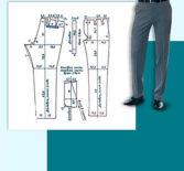 5 способов получить выкройку мужских брюк