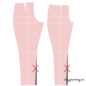 Как правильно заузить или расширить брюки